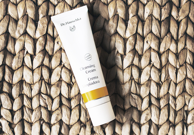 Dr. Hauschka Cleansing Cream Experiment