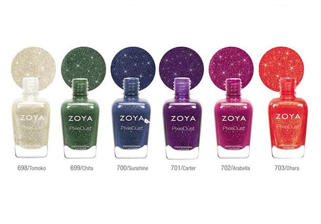 Zoya PixieDust Fall 2013 Collection