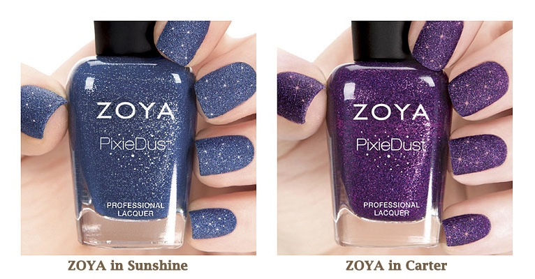 zoya pixiedust fall 2013 collection