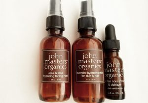 John Masters Organics Skincare and Haircare Empties