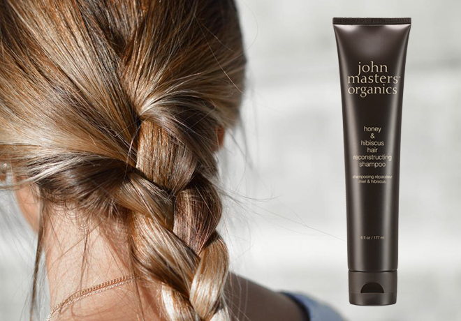 John Masters Organics Honey and Hibiscus Organic Reconstructing Shampoo