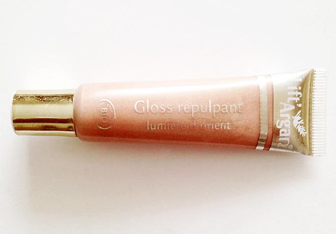 Natessance Natural Lift Argan Plumping Lip Gloss Damask Rose
