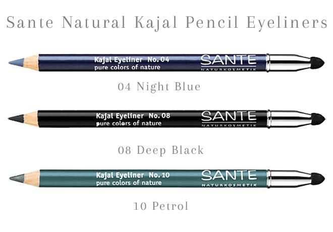 Sante Natural Kajal Eyeliners