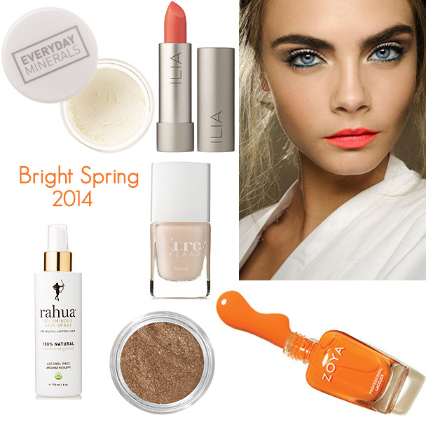 bright spring organic beauty 2014 5 Spring Beauty Trends You Will Love (#2014)