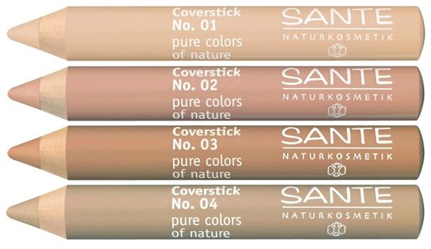 sante organic concealer coverstick