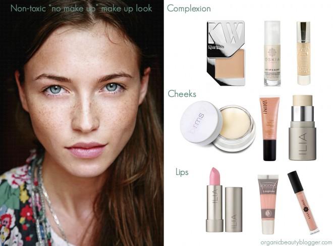 Non Toxic No Makeup Look