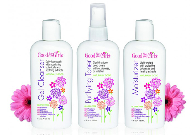 Good For You Girls Skincare Trio