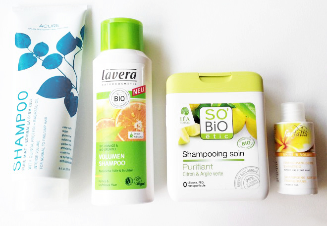 Organic Volume Shampoos