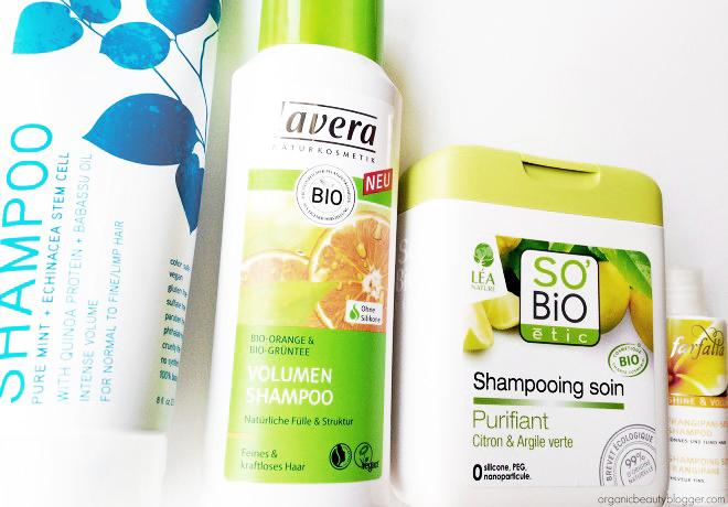 Organic Volumizing Shampoos