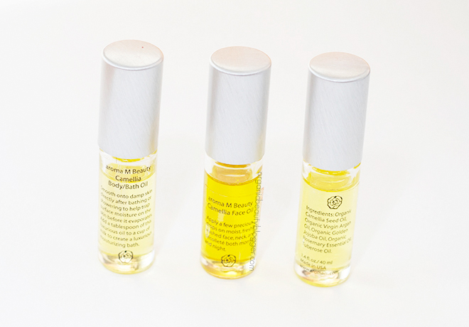 Aroma M Camellia Oils 1