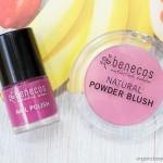 Benecos Duo: Natural Blush and Nail Polish