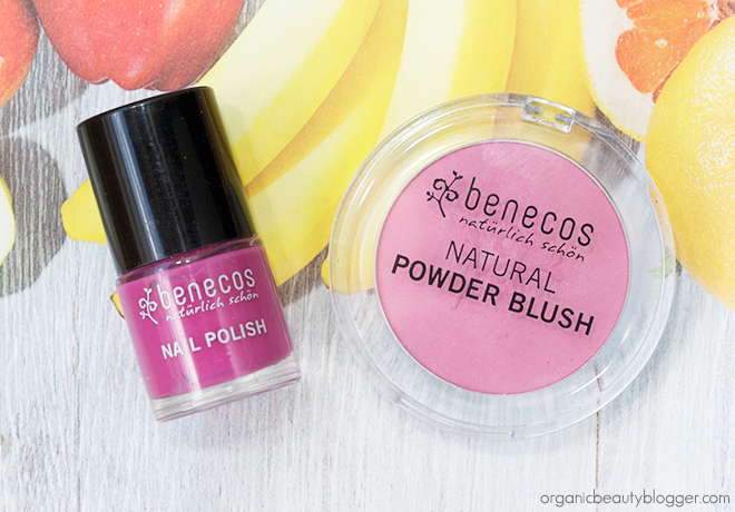 Benecos Makeup Duo Blush And Nail Polish Benecos Duo: Natural Blush and Nail Polish