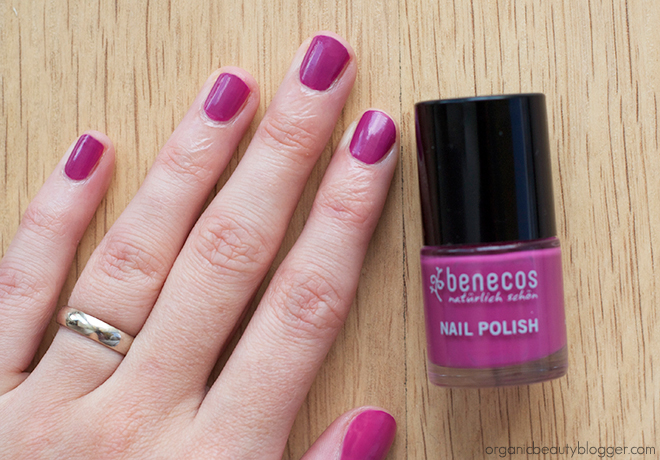 Benecos Nail Polish in My Secret Benecos Duo: Natural Blush and Nail Polish