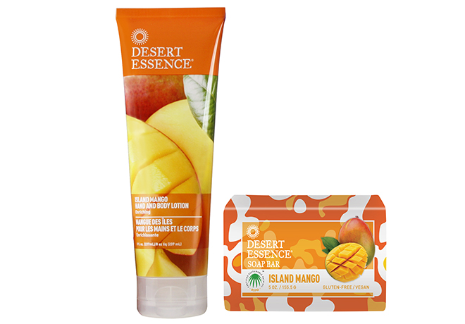 Desert Essence Island Mango Duo Desert Essence New Product Launch + Giveaway