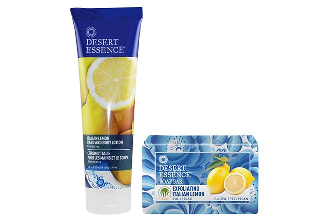 Desert Essence Italian Lemon Duo Desert Essence New Product Launch + Giveaway