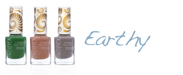 Pacifica 7 Free Nail Polish Earthy Pacifica 7 Free Nail Polish + Giveaway