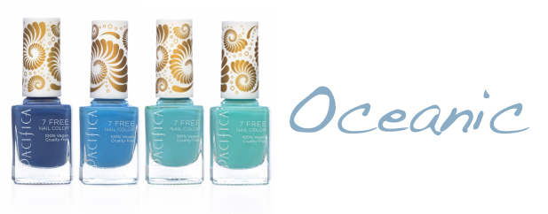 Pacifica 7 Free Nail Polish Oceanic Pacifica 7 Free Nail Polish + Giveaway