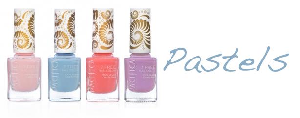Pacifica 7 Free Nail Polish Pastels Pacifica 7 Free Nail Polish + Giveaway