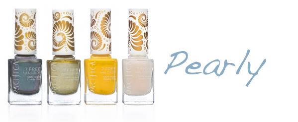 Pacifica 7 Free Nail Polish Pearly Pacifica 7 Free Nail Polish + Giveaway