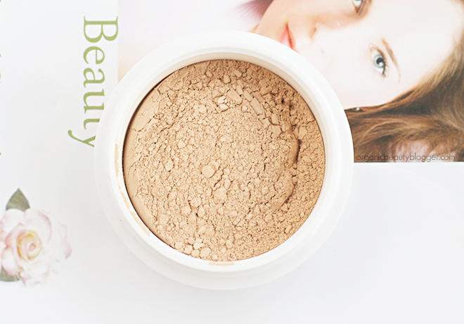 Elemental Beauty Flawless Mineral Foundation Barley 1