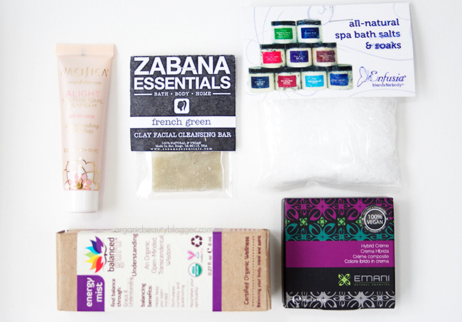 Vegan Cuts Beauty Box August 4