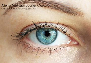 Alterra Max Lash Booster Organic Mascara Swatches
