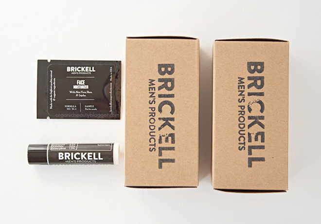 Brickell Organic Men's Products