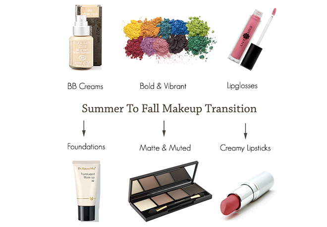 Summer To Fall Makeup Transition