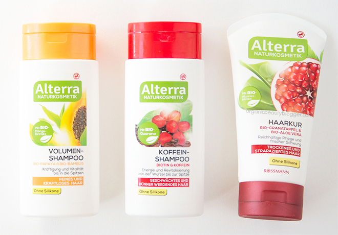 Alterra Naturkosmetik Shampoos & Hair Mask