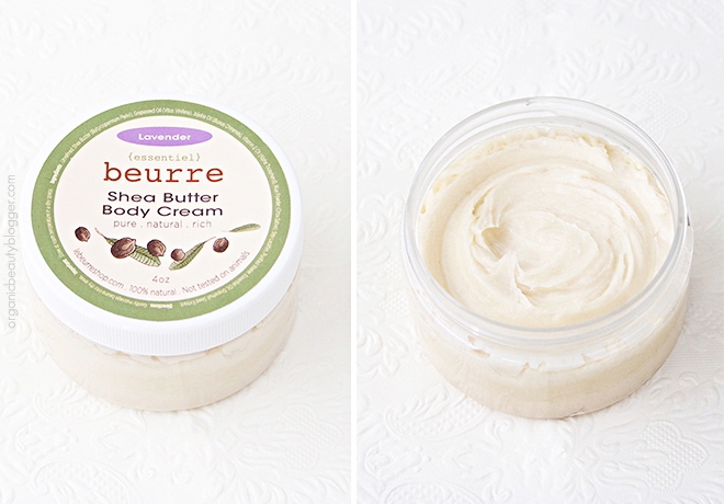 Beurre Shea Butter Body Cream Lavender Beurre Natural Shea Butter Creams