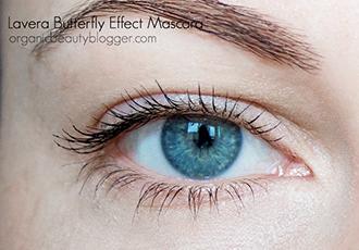 Lavera Butterfly Effect Mascara Swatch-1