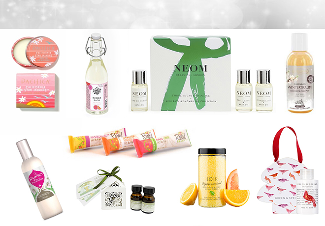Natural Christmas Beauty Stocking Fillers