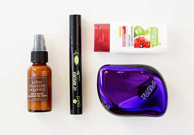 New Organic Beauty Products October