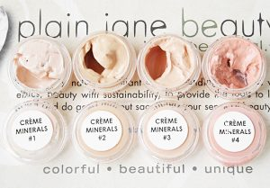 Plain Jane Beauty Organic Cream Mineral Foundation