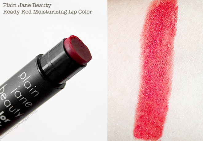 Plain Jane Beauty Ready Red Moisturizing Lip Color