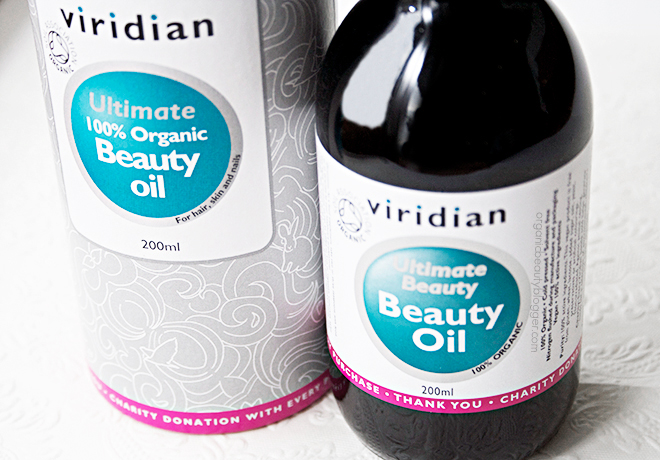 Viridian Ultimate Organic Beauty Oil