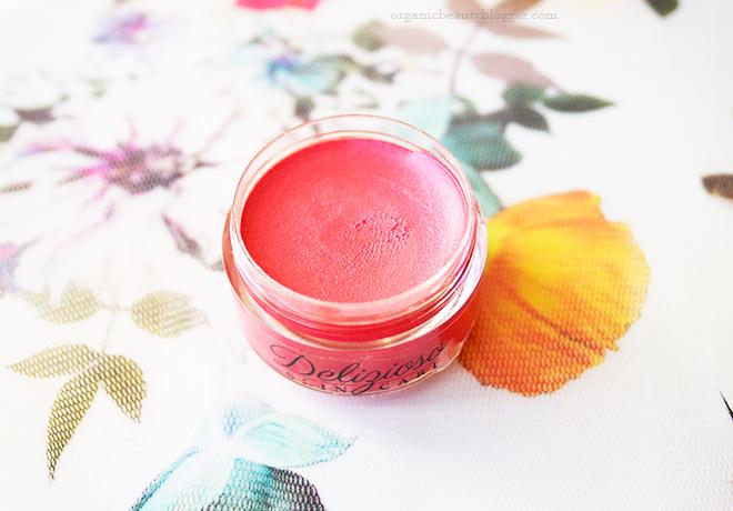 Delizioso Skincare Organic Cream Blush Outrageous