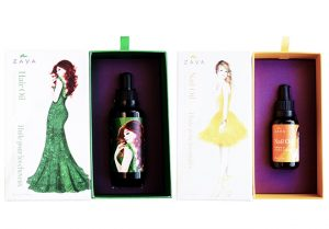 Zaya Natural Hair and Nail Oils