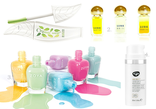 Spring Summer 2015 New Green Beauty Releases