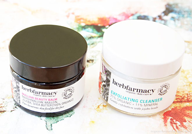 Herbfarmacy Mallow Beauty Balm And Exfoliating Cleanser
