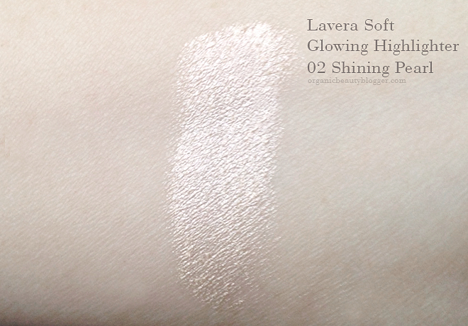 Lavera Soft Glow Organic Cream Highlighter in Shining Pearl