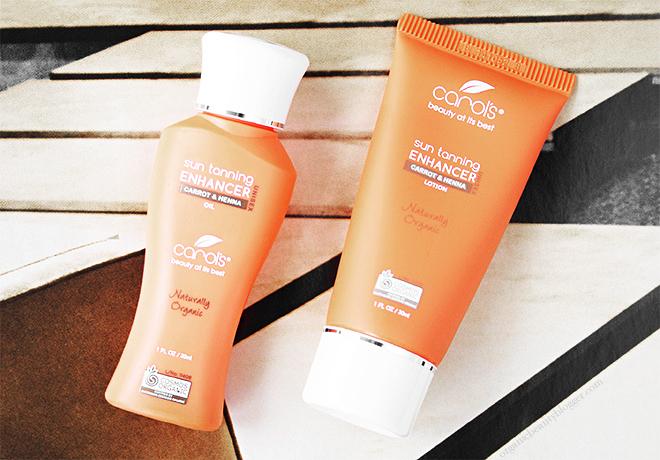 Carols Beauty Natural Sun Tan Enhancers