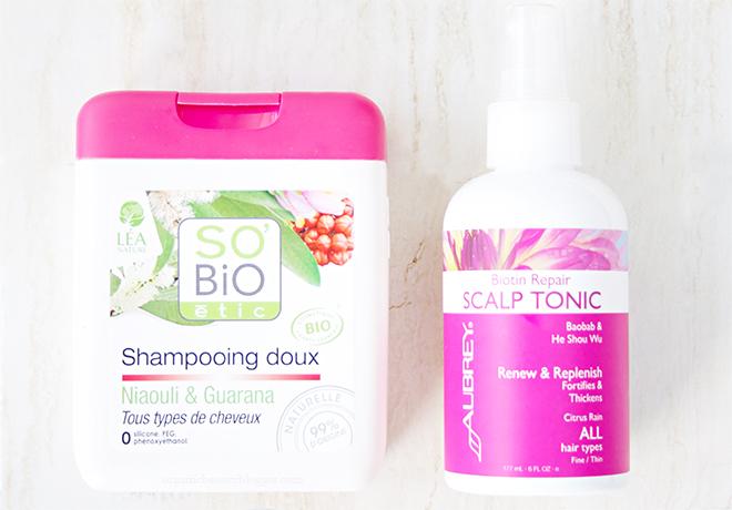 Organic Hair Care Duo Sobio Aubrey
