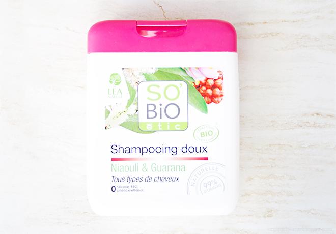 SoBio Etic Niaouli Guarana Organic Shampoo
