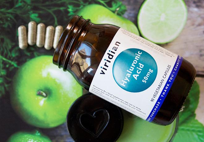 Viridian Hyaluronic Acid Vegetarian Supplements