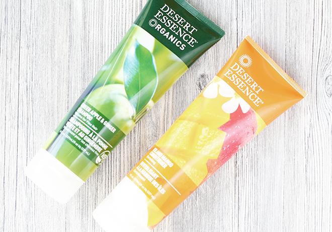 Desert Essence Green Apple Shampoo & Mango Conditioner