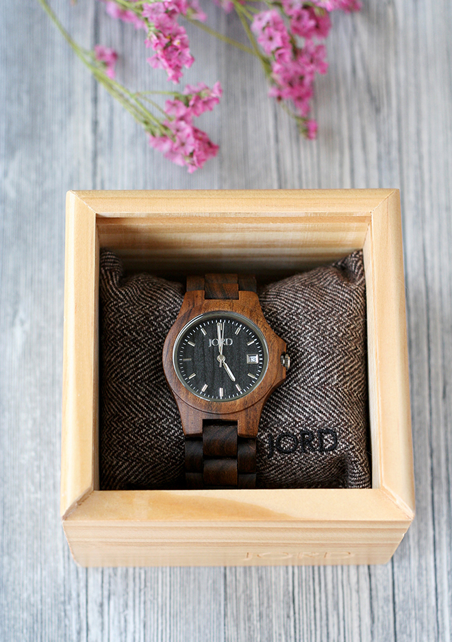 JORD Ely Wood Watch