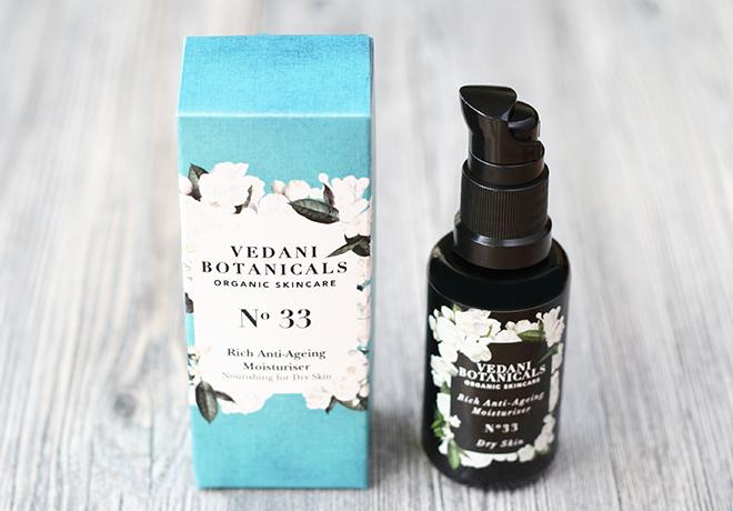Vedani Botanicals Rich Anti-Ageing Moisturiser