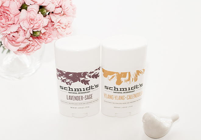 Schmidts Natural Deodorants Lavender Sage and Ylang Calendula