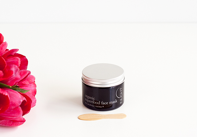 Inlight organic super-food face mask